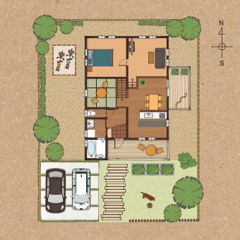栃木県宇都宮市の工務店で建てるならNEXT HAUS DESIGNのBinO