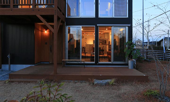 栃木県宇都宮市の住宅会社といえばNEXT HAUS DESIGNの庭