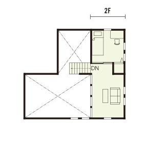 宇都宮市でスキップフロアといえばNEXT HAUS DESIGNのプラン02