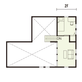 宇都宮市でスキップフロアといえばNEXT HAUS DESIGNのプラン08