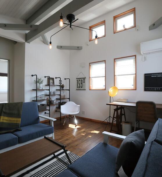 宇都宮市でスキップフロアといえばNEXT HAUS DESIGNの部屋04