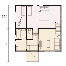 宇都宮市での注文住宅NEXT HAUS DESIGNのRのプラン02