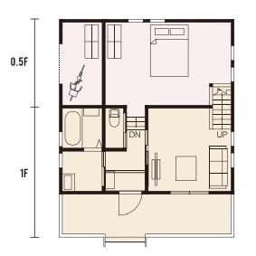 宇都宮市での注文住宅NEXT HAUS DESIGNのRのプラン04