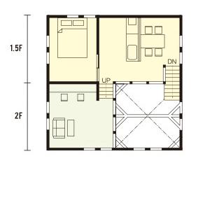 宇都宮市での注文住宅NEXT HAUS DESIGNのRのプラン05