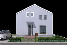 宇都宮市での注文住宅NEXT HAUS DESIGNのRのカラーホワイト