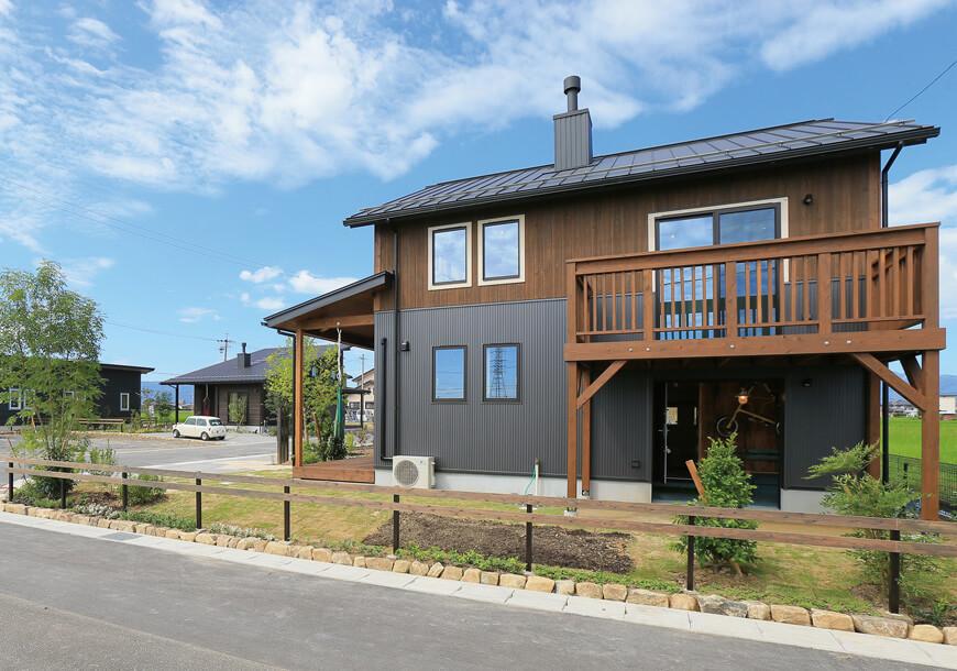 栃木県での注文住宅NEXT HAUS DESIGNのR外観01