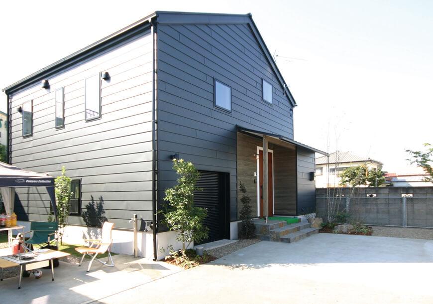 栃木県での注文住宅NEXT HAUS DESIGNのR外観03