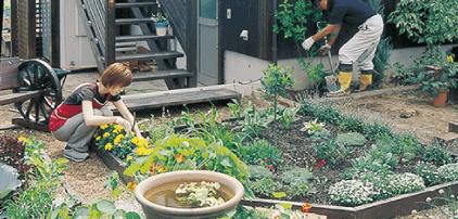 栃木県宇都宮市の注文住宅ならNEXT HAUS DESIGNで家庭菜園