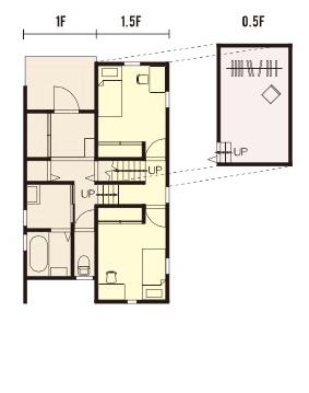 宇都宮市の住宅メーカーNEXT HAUS DESIGNのプラン05