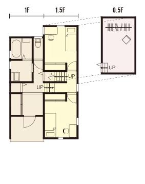 宇都宮市の住宅メーカーNEXT HAUS DESIGNのプラン02