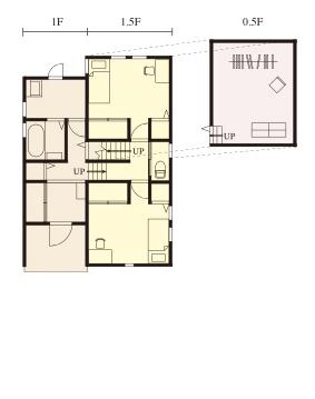 宇都宮市の住宅メーカーNEXT HAUS DESIGNのプラン08