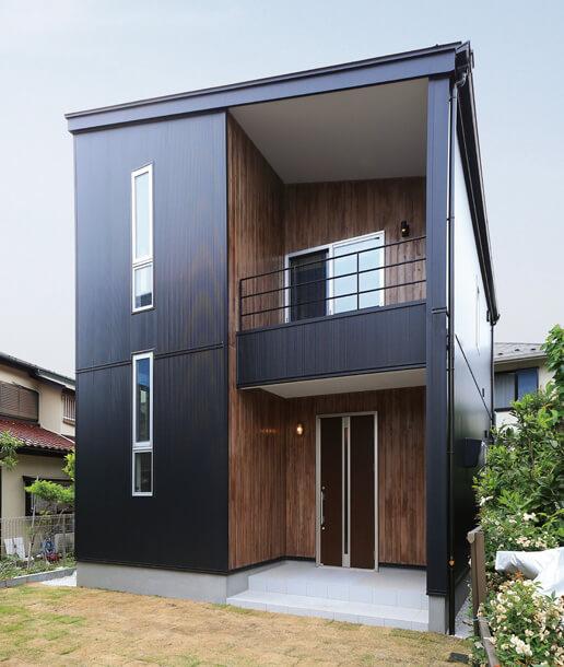 宇都宮市の住宅メーカーNEXT HAUS DESIGNのFACADE DESIGN01
