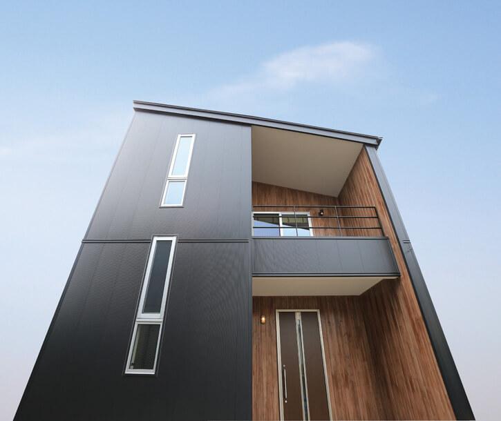 宇都宮市の住宅メーカーNEXT HAUS DESIGNのFACADE DESIGN02