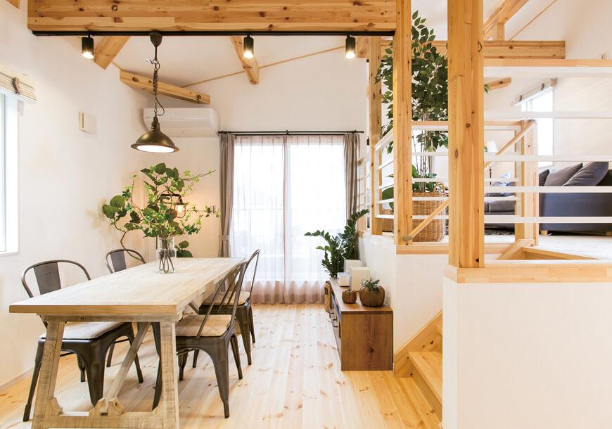 宇都宮市の住宅メーカーNEXT HAUS DESIGNのリビングスペース01