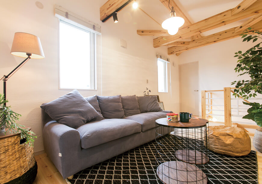 宇都宮市の住宅メーカーNEXT HAUS DESIGNのリビングスペース02
