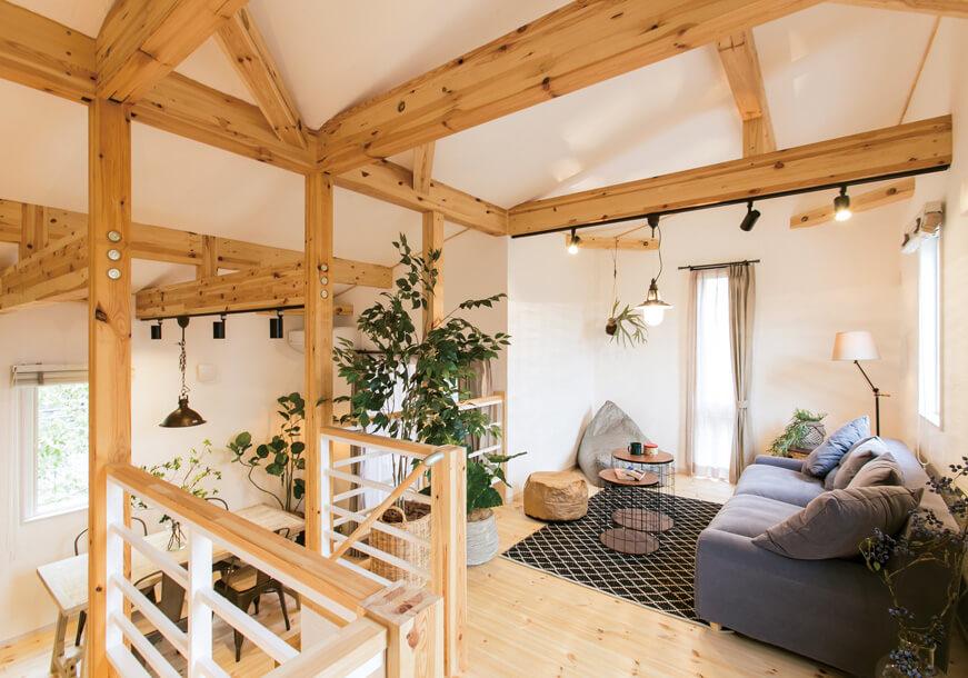 宇都宮市の住宅メーカーNEXT HAUS DESIGNのリビングスペース03