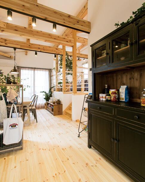 宇都宮市の住宅メーカーNEXT HAUS DESIGNのリビングスペース05