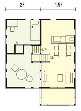 栃木県宇都宮市の住宅会社NEXT HAUS DESIGNのWAVEプラン09