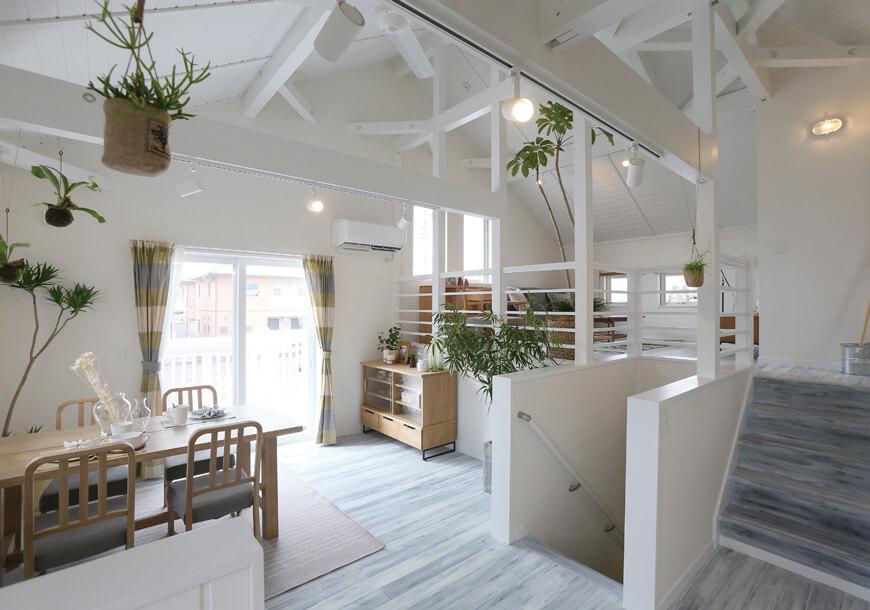 宇都宮市の住宅会社NEXT HAUS DESIGNのリビング01