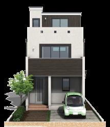 栃木県の工務店が建てるNEXT HAUS DESIGNのX-CREWSのカラー01