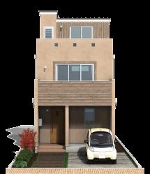 栃木県の工務店が建てるNEXT HAUS DESIGNのX-CREWSのカラー02