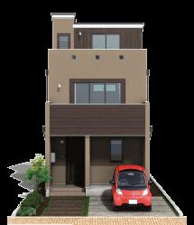 栃木県の工務店が建てるNEXT HAUS DESIGNのX-CREWSのカラー03