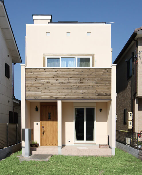 栃木県の工務店が建てるNEXT HAUS DESIGNの外観05
