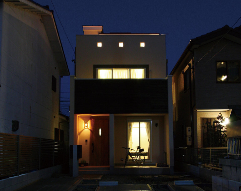 栃木県の工務店が建てるNEXT HAUS DESIGNの外観01