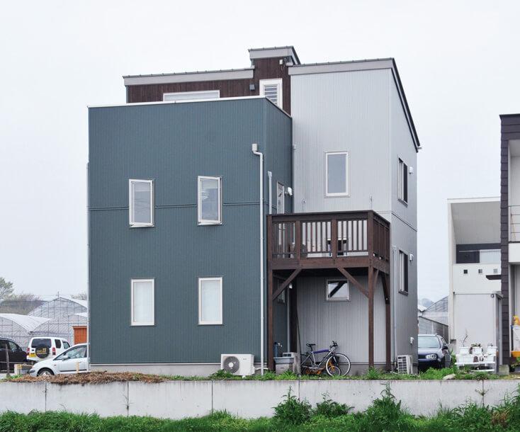 栃木県の工務店が建てるNEXT HAUS DESIGNの外観02