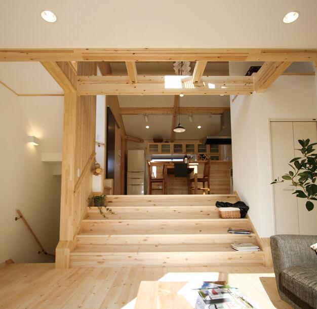 栃木県の工務店が建てるNEXT HAUS DESIGNのX-CREWSリビング05