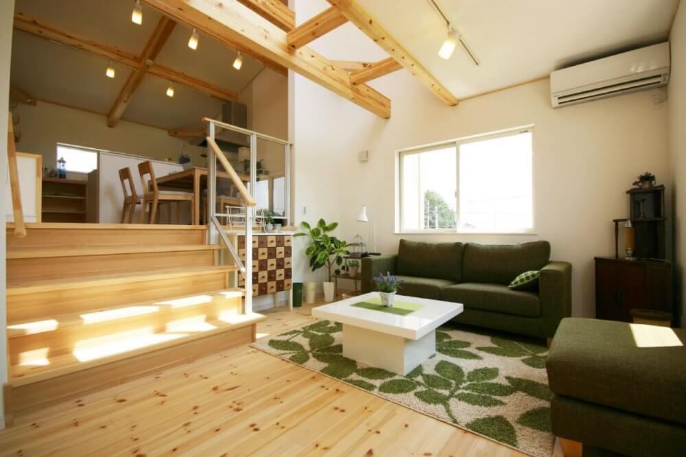 栃木県の工務店が建てるNEXT HAUS DESIGNのX-CREWSリビング01