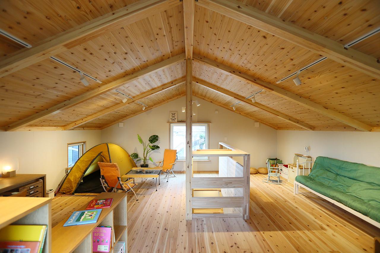 宇都宮モデルハウス|BEAHAUS|屋根裏部屋