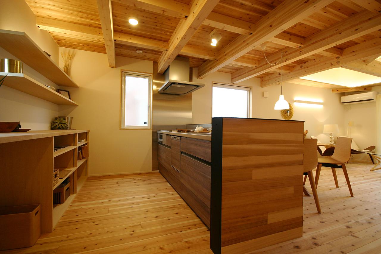 宇都宮モデルハウス|平屋+α NeoLOAFER|対面キッチン
