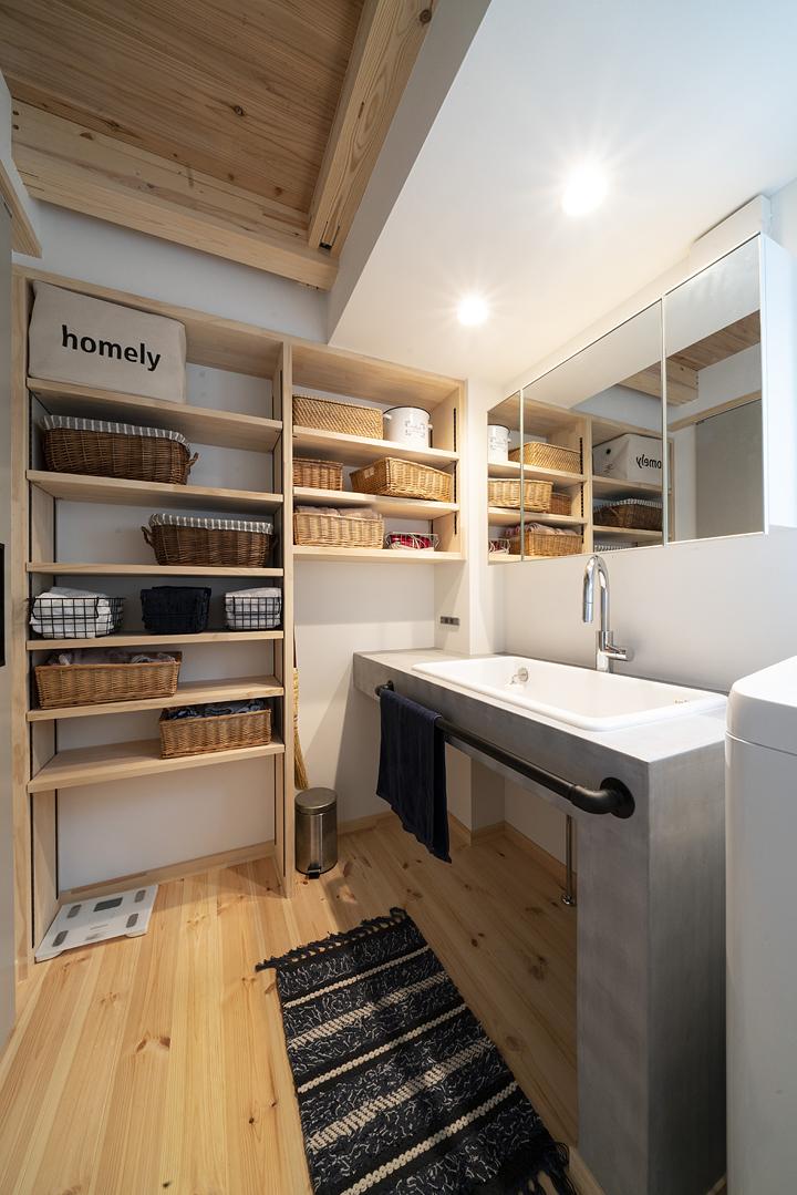 栃木県宇都宮市U様邸|洗面室|ネクストハウスデザイン