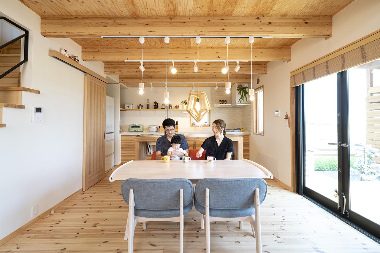 栃木県下野市H様邸|LOAFER|ダイニングキッチン|ネクストハウスデザイン