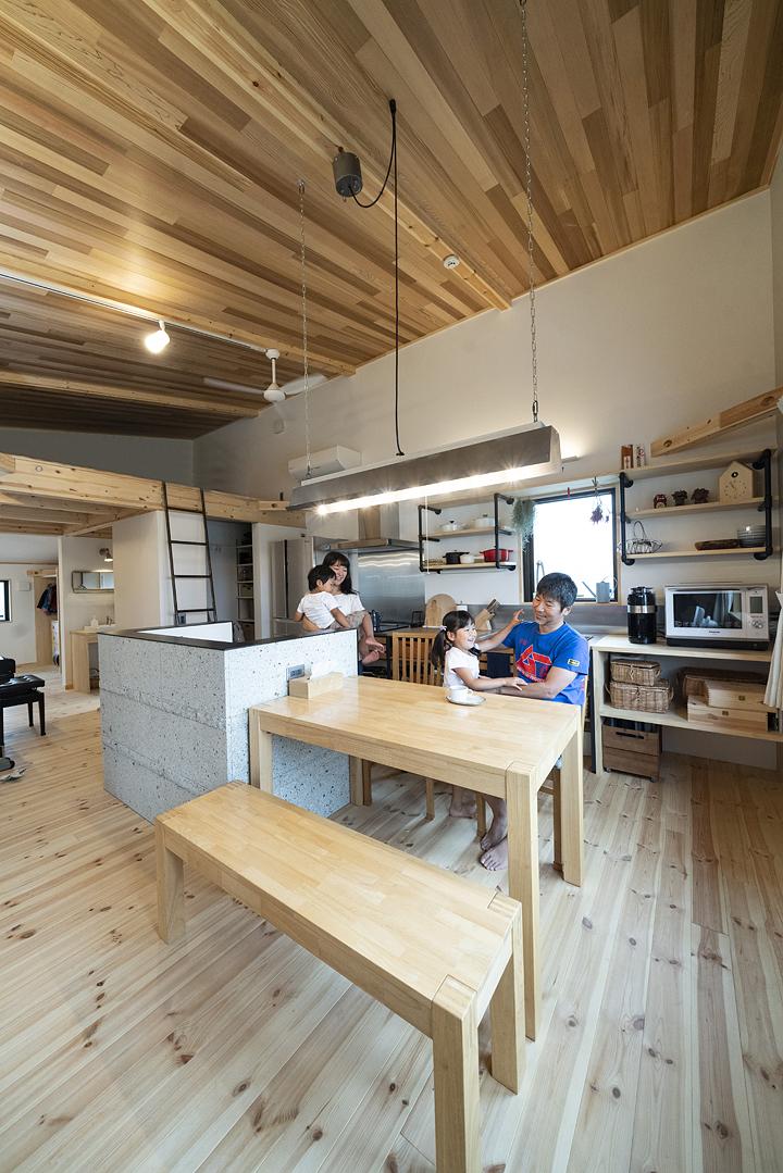 栃木県宇都宮市U様邸|ダイニングキッチン|ネクストハウスデザイン