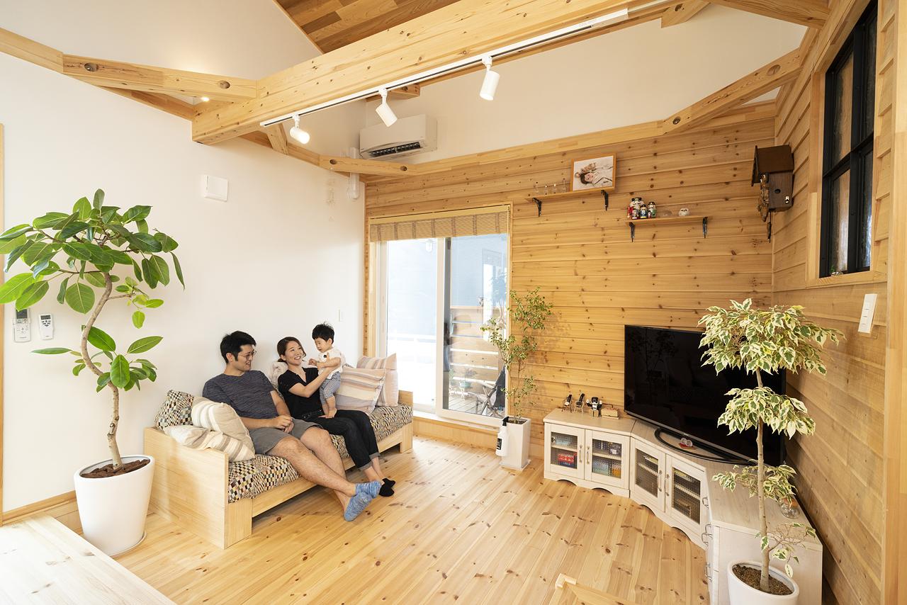 栃木県下野市H様邸|LOAFER|リビング|ネクストハウスデザイン