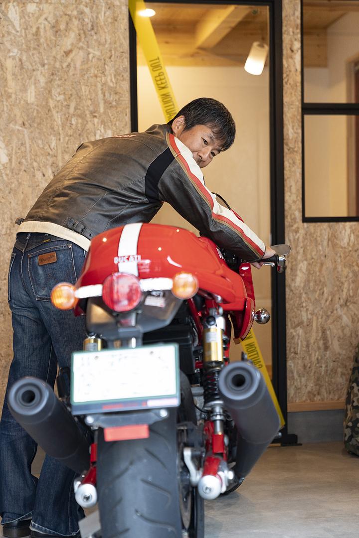 栃木県宇都宮市U様邸|バイクガレージ|ネクストハウスデザイン