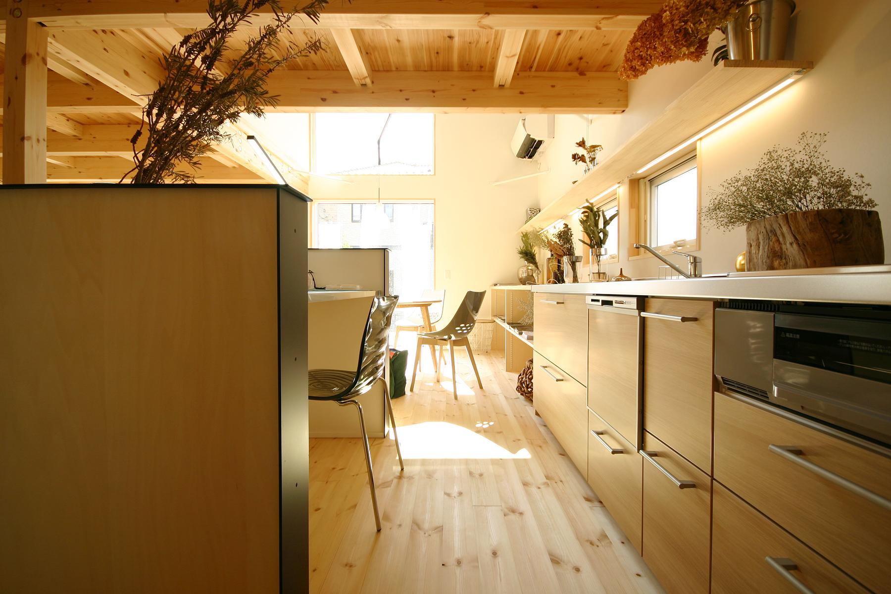 BEAHAUS|N-SERIES キッチン|栃木県宇都宮市の注文住宅 ネクストハウスデザインの施工例
