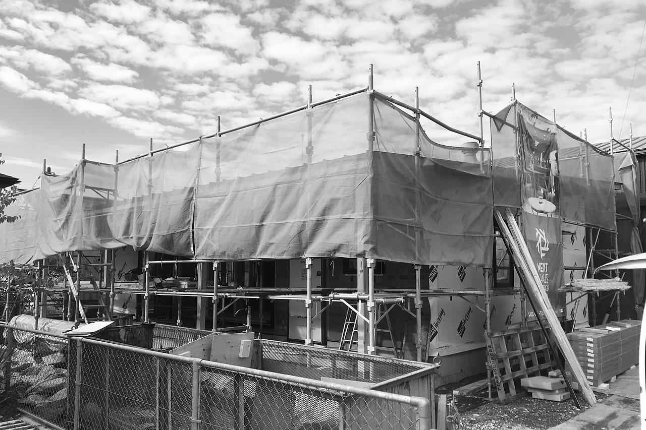 宇都宮モデルハウス|COVACO|建築中