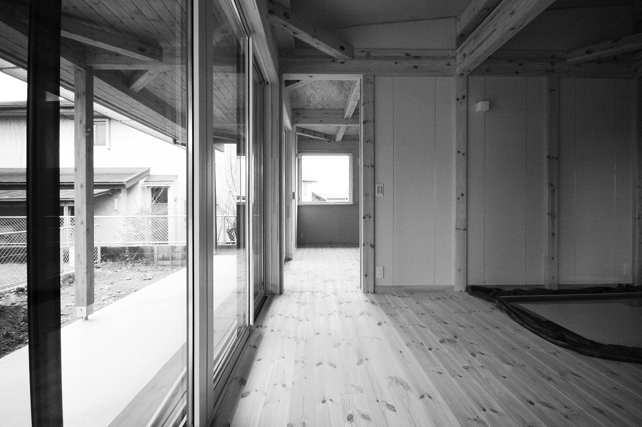 宇都宮モデルハウス 平屋COVACO[コバコ] 建築中