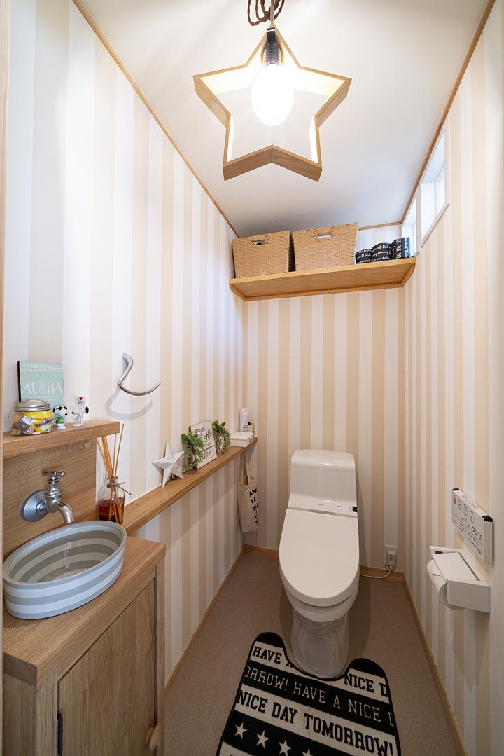 栃木県宇都宮市K様邸|BOOOTS|トイレ|ネクストハウスデザイン