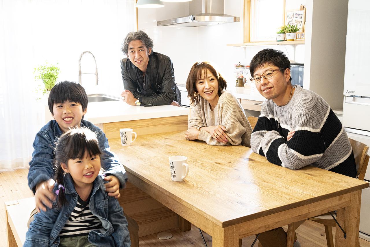 栃木県宇都宮市 K様ご家族と|ネクストハウスデザインのオーナー様