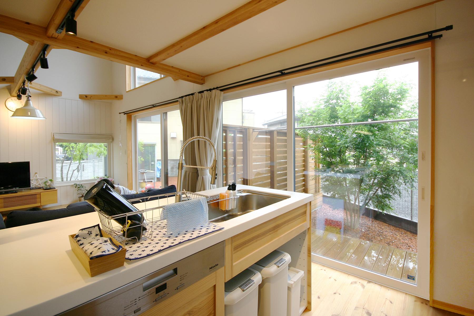 栃木県宇都宮市K様邸|BOOOTS|キッチン|ネクストハウスデザイン
