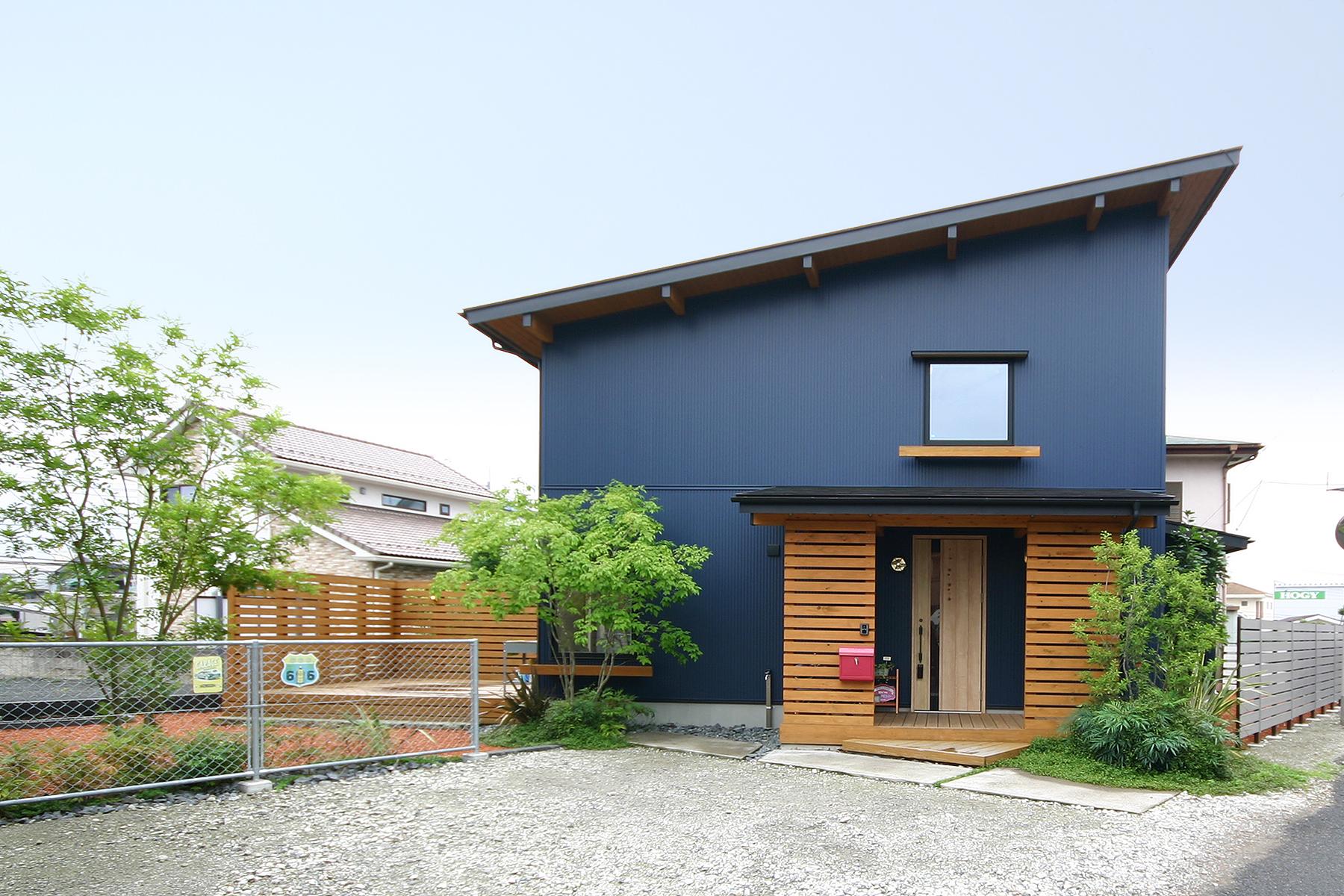 栃木県宇都宮市K様邸|BOOOTS|外観|ネクストハウスデザイン