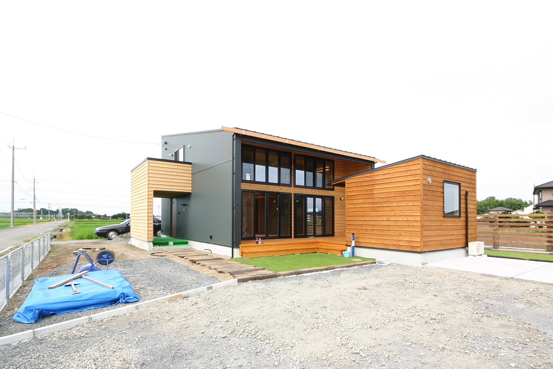 《終了》住まいと小屋をデッキで繋ぐ 完成見楽会 芳賀町|注文住宅 Glamp