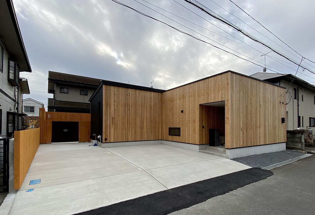《終了》ホテルライクな一人暮らしの平屋 完成見楽会 壬生町|注文住宅 自由設計